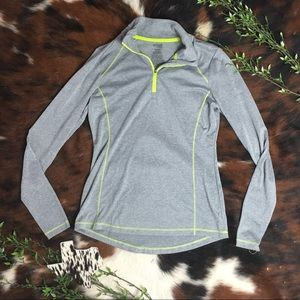 DAN SKIN NOW • Gray Semi Fitted Athletic Pullover